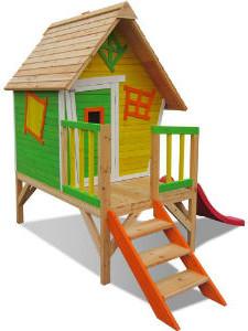 Haus mit kurzen Stelzen - Hexenhaus