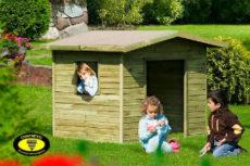 holz spielhaus für kinder