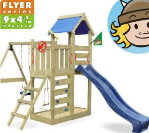 Kinder Spielhaus Holz von Wickey